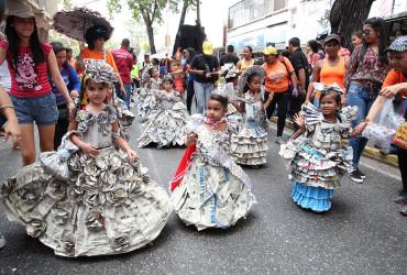 Exitoso despliegue de seguridad durante primer desfile de carnaval