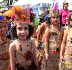 Escolares abrieron Carnavales de Maturín