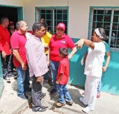 Santaella recuperara el liceo y ambulatorio de Chaguaramas