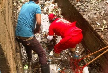 Gobernación despliega cuadrillas de limpieza para drenajes y alcantarillas de Maturín (+fotos)