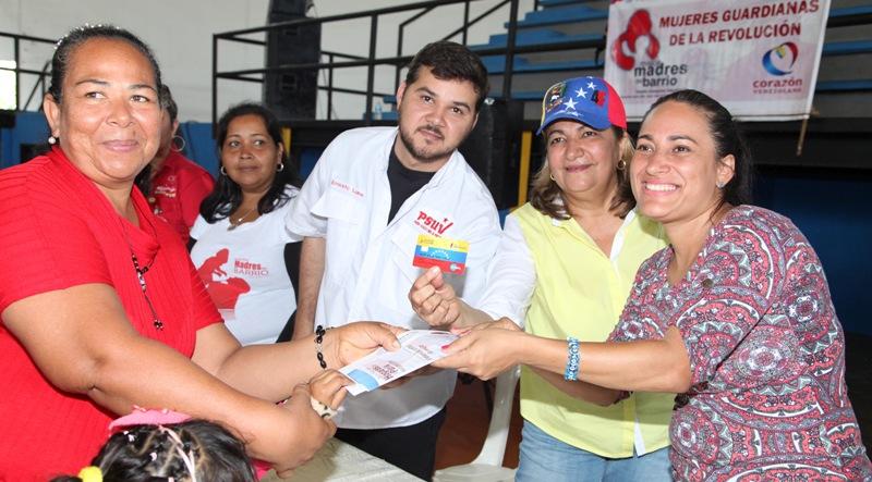 2.088 Hogares de la Patria de Monagas recibieron sus Tarjetas Socialistas