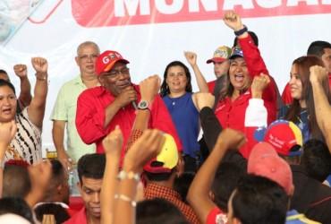 Istúriz juramentó a integrantes de la Jpsuv en Monagas