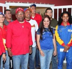 "Inauguran comedor ""Nelson Trujillo"" en el polideportivo de Maturín"