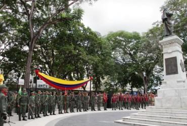 Conmemoran en Monagas natalicio del Libertador y Día Nacional de la Armada