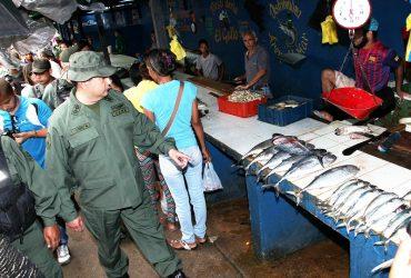 Zodi Monagas inspeccionó el Mercado Municipal de Maturín