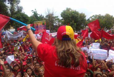 Santaella llamó al pueblo a estar alerta para defender la revolución (+fotos)