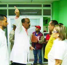 Inspeccionan áreas vulnerables de la emergencia del HUMNT