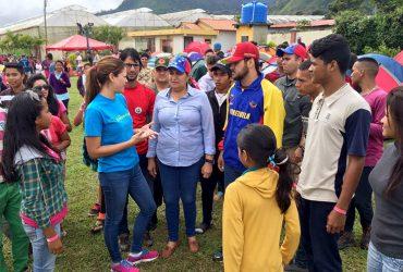 Juventud del Psuv Monagas inició campamento en Caripe